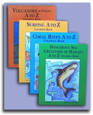 Hawai'i A-Z Non-Fiction Coloring Book Series